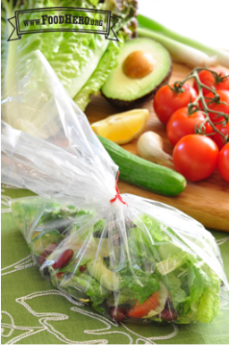 Personal Salad in a Bag Recipe
