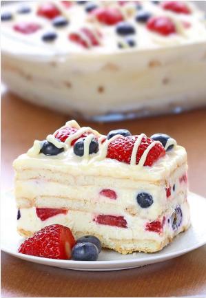 No bake summer berry icebox cake a delicious dessert