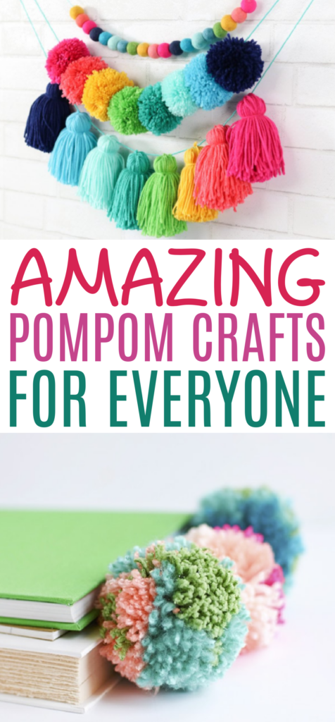 Amazing pompoms crafts for everyone roundup