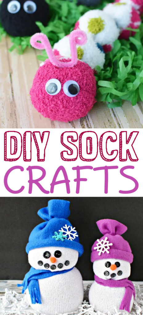 DIY sock crafts roundup