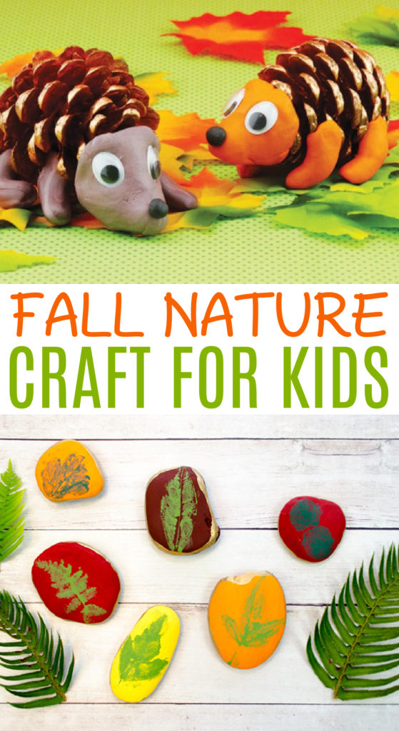 Fall nature craft for kids roundup