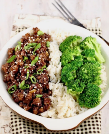 Easy to make delicious Korean ground beef and broccoli dinner menu for the family