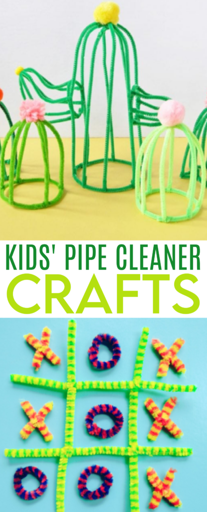kids' pipe cleaner crafts