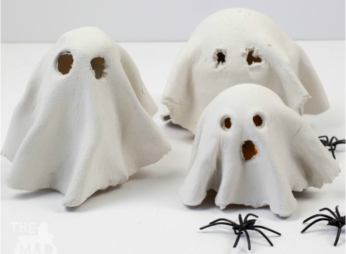 Clay ghosts and spiders