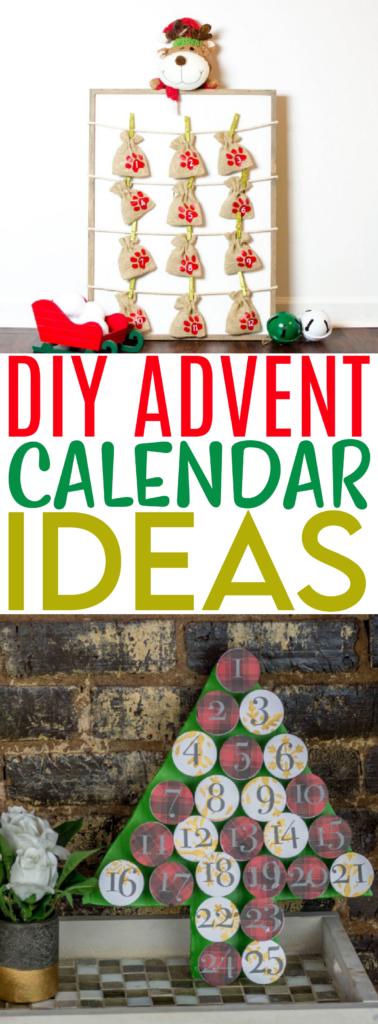 DIY Advent Calendar Ideas Roundup