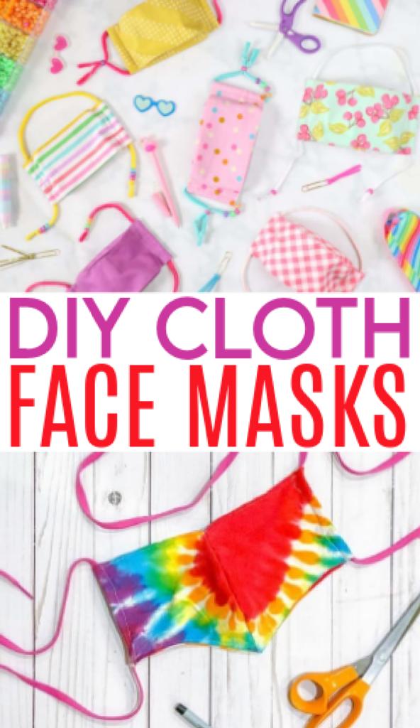 DIY cloth face masks roundup