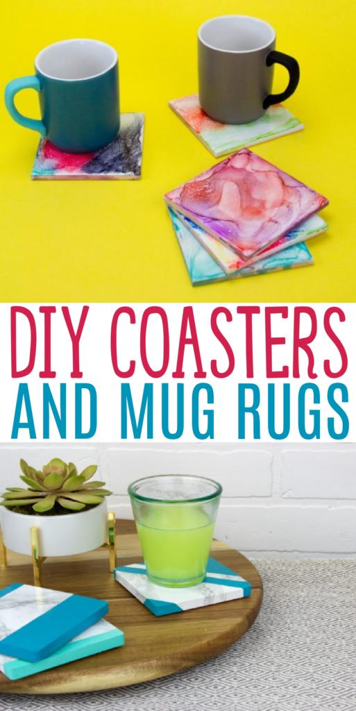 coasters and mug rugs