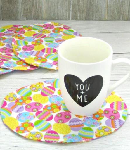 oval mug rugs