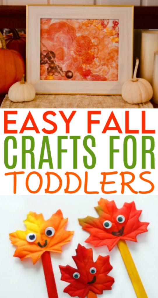 Easy Fall Crafts For Toddlers roundup