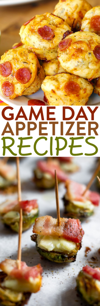 Game Day Appetizer Recipes roundup