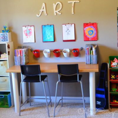 The Best DIY Homework Stations for Kids thumbnail