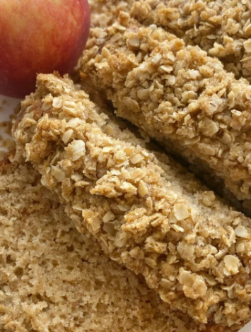 super moist and deliciously soft applesauce bread