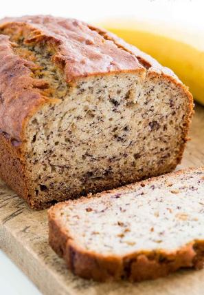 easy to make delicious and moist banana bread recipe