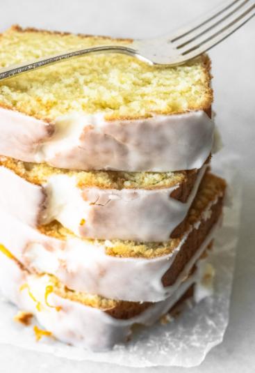 citrusy pound cake buttermilk lemon bread