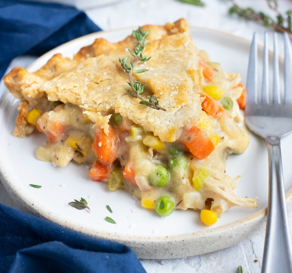 Homemade Chicken Pot Pie Recipe Healthy Party Dish