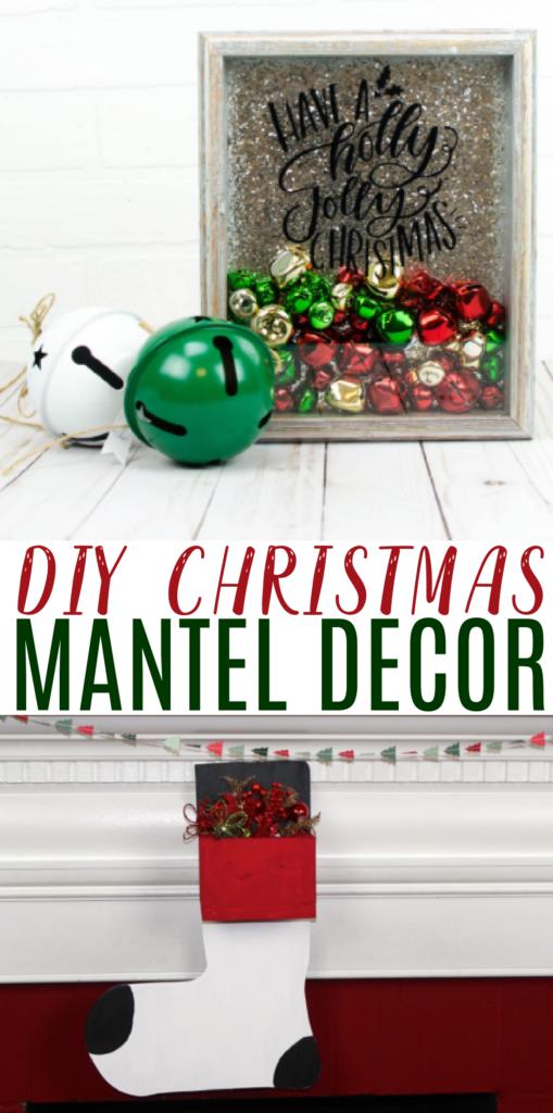 DIY Christmas Mantel Decor Roundup