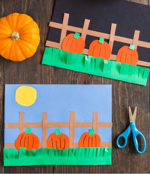 pumpkin craft for kids perfect activity