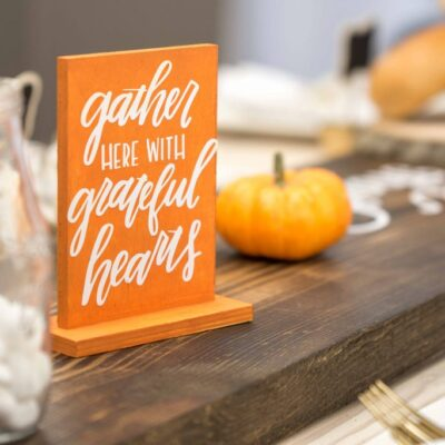 DIY Fall Table Decorations thumbnail
