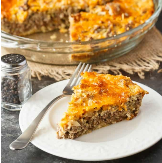 Super Easy and Delicious Impossible Cheeseburger Pie Recipe