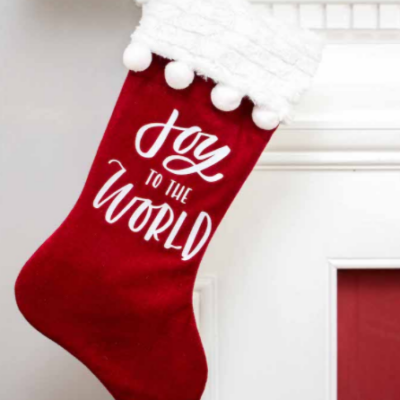 DIY Christmas Stockings You Can Make
