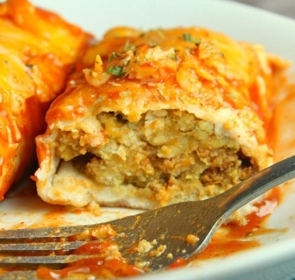 thanksgiving leftover enchiladas recipe for dinner