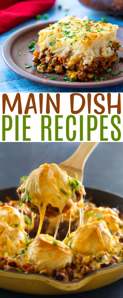 Main Dish Pie Recipes Roundups
