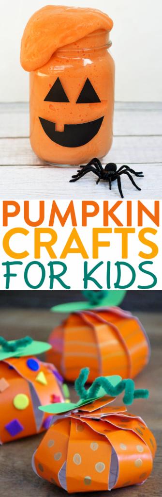 Adorable Pumpkin Crafts for Kids roundup