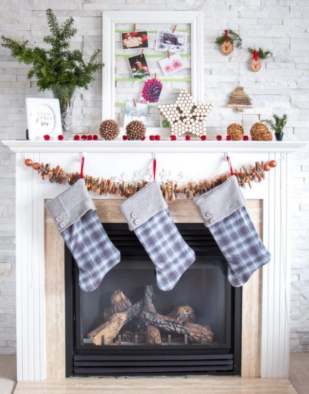 create your own rustic christmas mantel with these 10 diy ideas