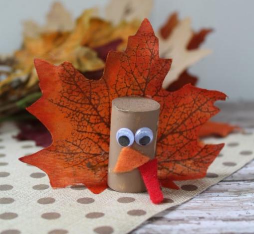 wine cork turkey thanksgiving craft project for kids
