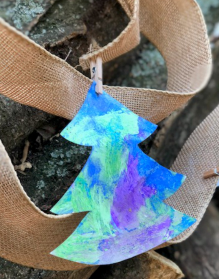 diy christmas tree garland holiday decor projects for kids