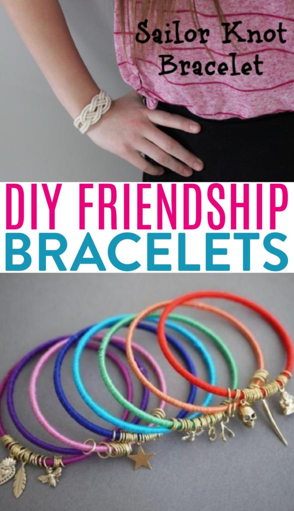 DIY friendship bracelets roundup
