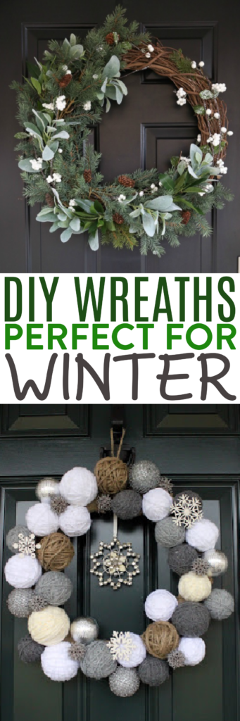 DIY Wreaths Perfect for Winter Roundups