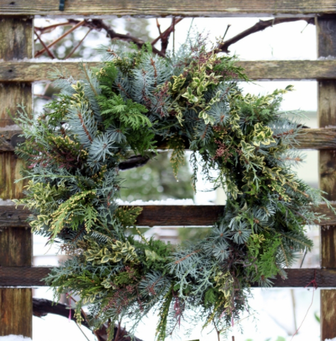 Make a fresh foraged wreath holiday decor experienced nature