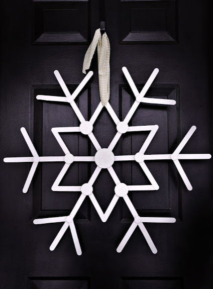 Let it snow wreath for the holiday