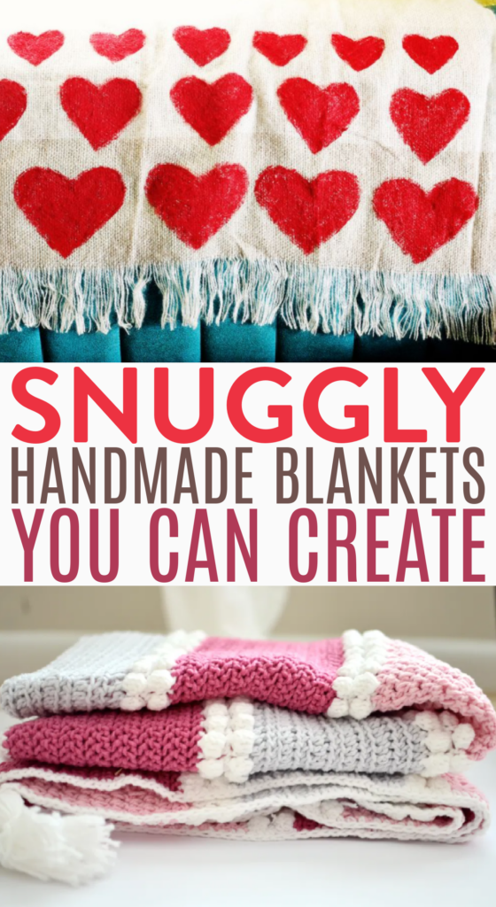 Snuggly Handmade Blankets You Can Create roundup