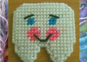 A cute tooth fairy pouch for little ones