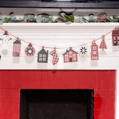 DIY Christmas Garlands and Banners