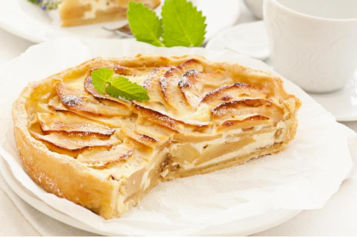 a yummy cream pie for dessert