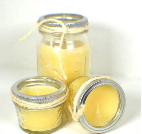 DIY Clean Smelling Beeswax Candles Tutorial