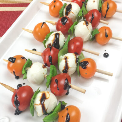 Easy Make Ahead Appetizers for New Year's Eve thumbnail