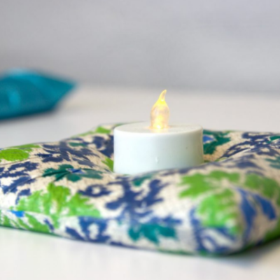 DIY Candles and Candleholders