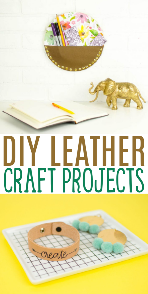 diy leather craft projects