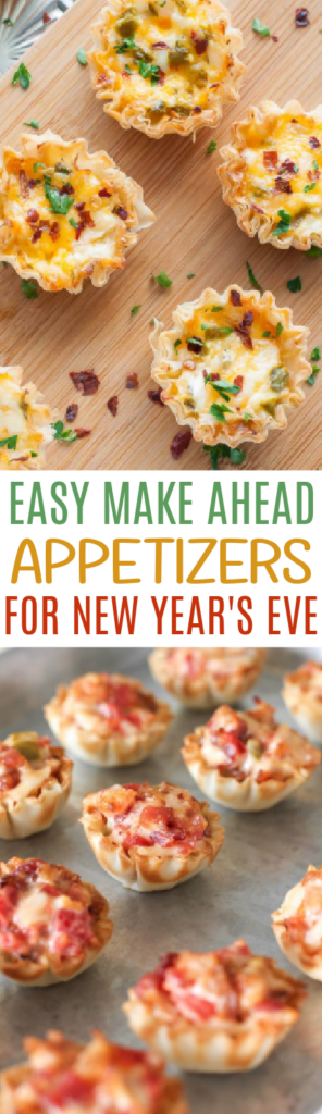 Easy Make Ahead Appetizers For New Year's Eve roundup