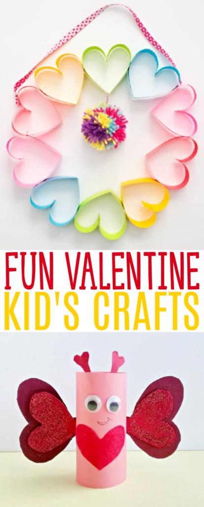 Fun Valentine Kid's Crafts roundup
