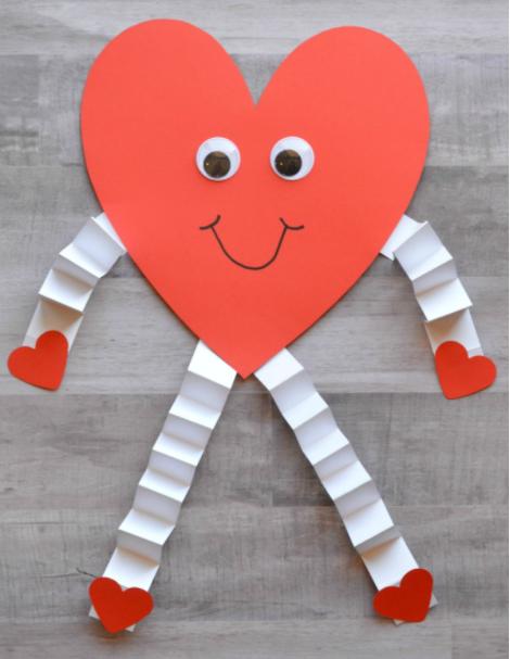 Valentine heart man
