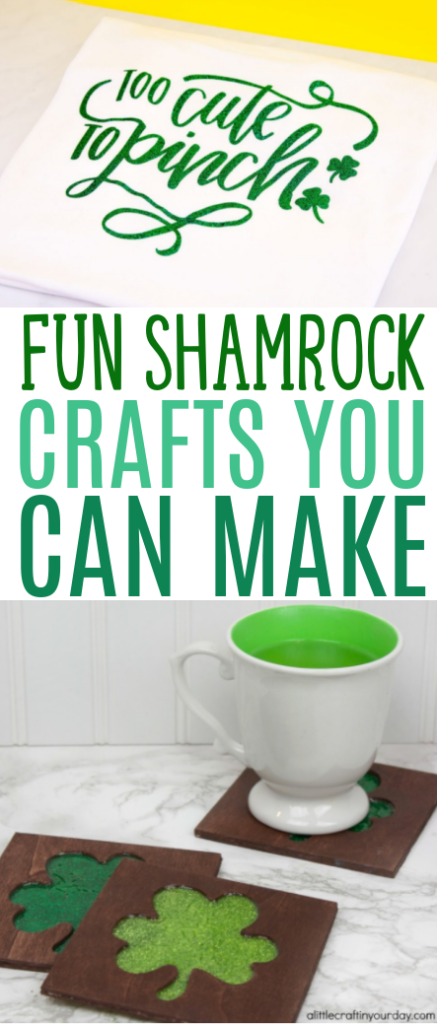 Fun shamrock crafts you can make roundup