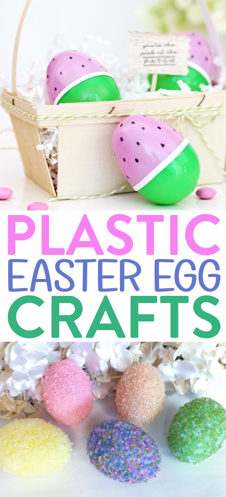 Plastic Easter Egg Crafts roundup