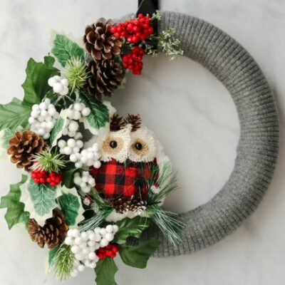 DIY Wreaths Perfect for Winter