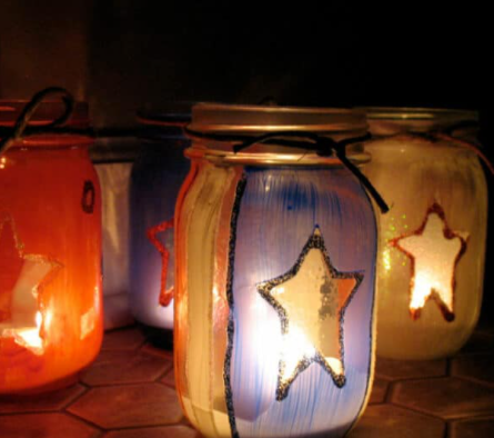 4th of july luminaries outdoor and indoor holiday craft project