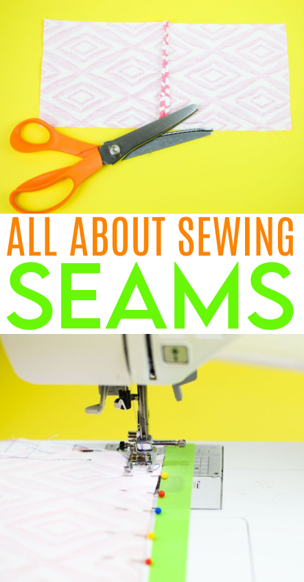 all about sewing seams